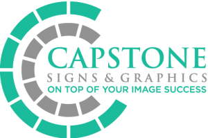 Experiment Sign Company Capstone Signs & Graphics Logo